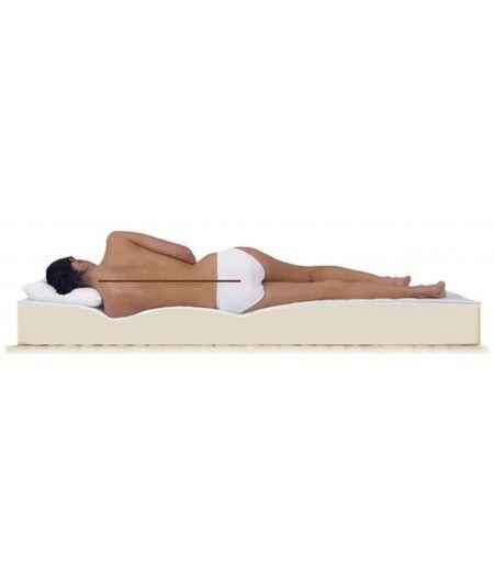 Maxi Bamboo Matelas 70x190 Tissu - Ferme + Oreiller à Mémoire de Forme OFFERT valeur 89 €