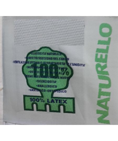 Matelas pour Canapé lit Latex Naturel-Tissu Strech très résistant - Hauteur 10 cm - Soutien Equilibré - Orthopédique FIRST10
