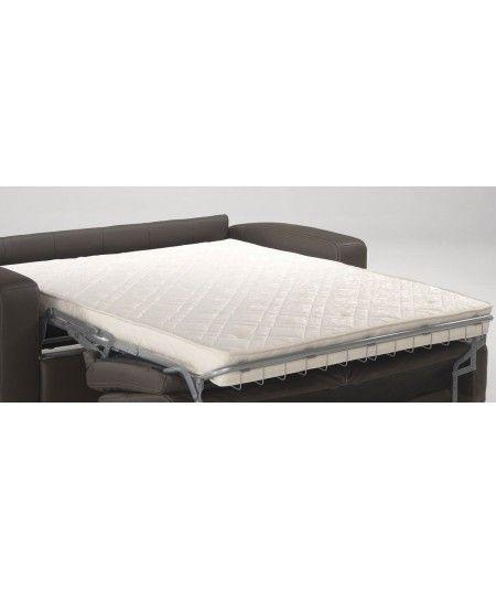 Matelas pour Canapé lit Latex Naturel-Tissu Strech très résistant - Hauteur 10 cm - Soutien Ferme - Orthopédique FIRST10