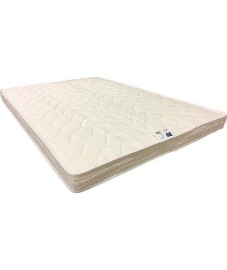 Matelas pour Canapé lit  Mousse Poli Lattex Indéformable Tissu Strech très résistant - Hauteur 10 cm - Soutien Ferme + Oreiller