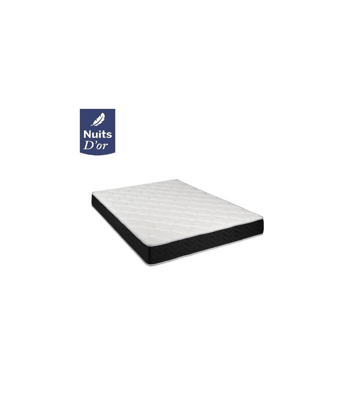 Lot de 2 Matelas Latex Haute Résilience 80 Kg/m3 + Aertech - Epaisseur 20 Cm - Soutien Ferme - hypoallergénique + 2 Protèges Mat