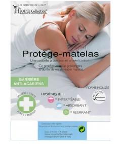 Matelas 21cm avec Latex Naturel 80 Kg/m3 Ferme - Déhoussable + Oreiller Mémoire de Forme + Protège Matelas OFFERTS