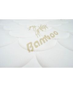 Lot de 2 Matelas 22cm Mémoire de Forme + mousse HR + Tissu Bambou + Confort Ferme + 2 Protèges Matelas OFFERTS