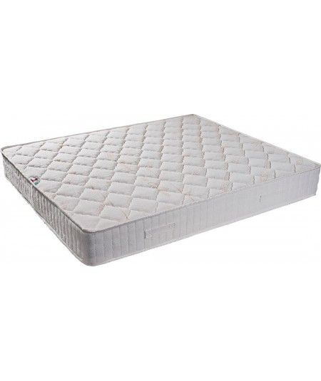 Lot de 5 Matelas - Tissu Ignifugé Hauteur 15 cm au Confort Ferme - Mousse Extrèmement Durable - anti feu