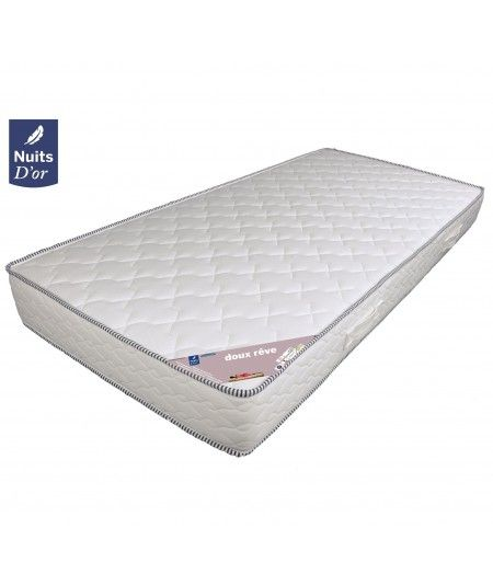 Dream Soft Mattress 70x190 Very Firm Density 30 Kg / m3 - 18 Cm + Memory Pillow Value 89