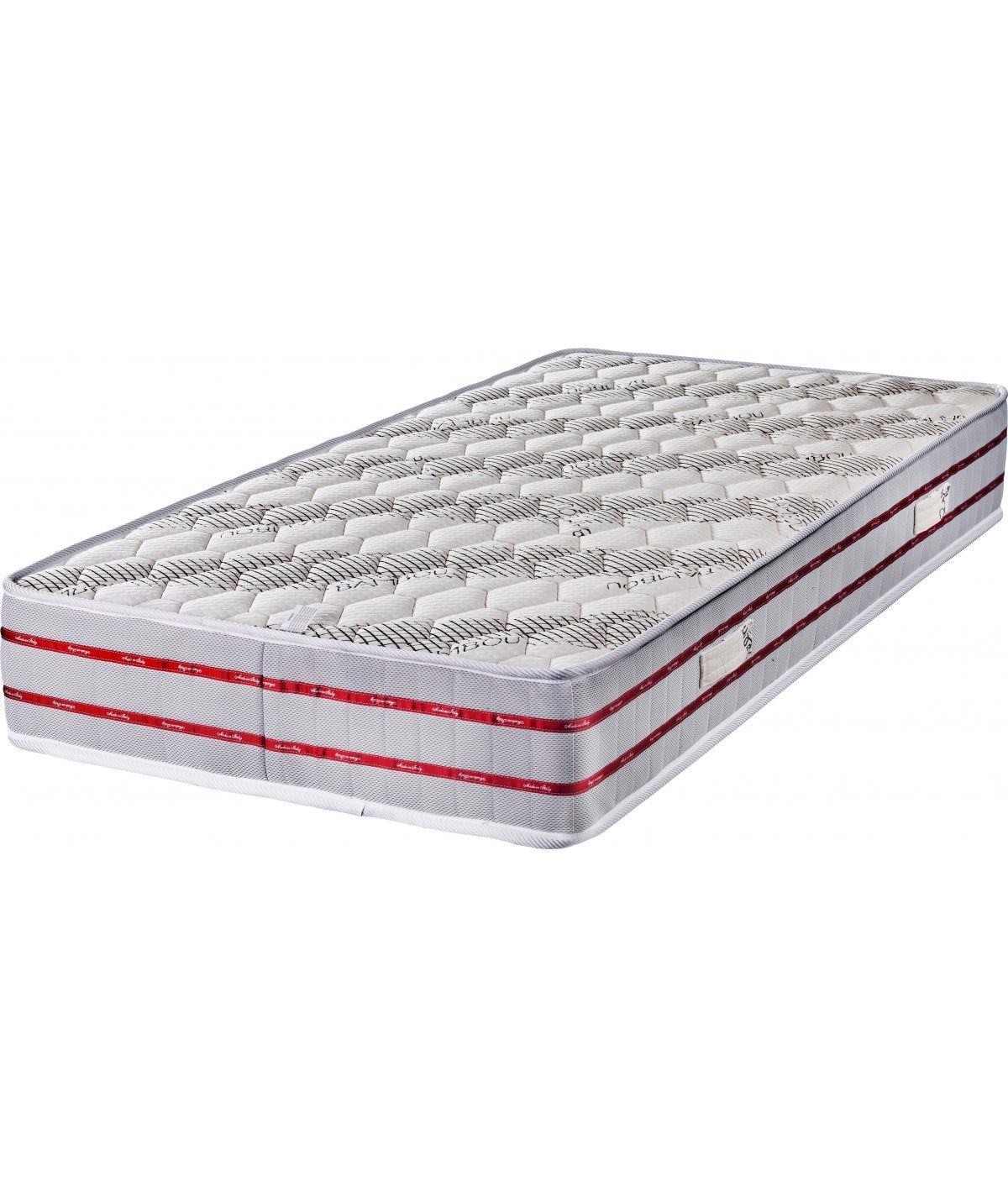 Bamboo Very Firm Mattress Fabric Bamboo Foam Polilattex Non-deformable - 24 cm - Orthopedic