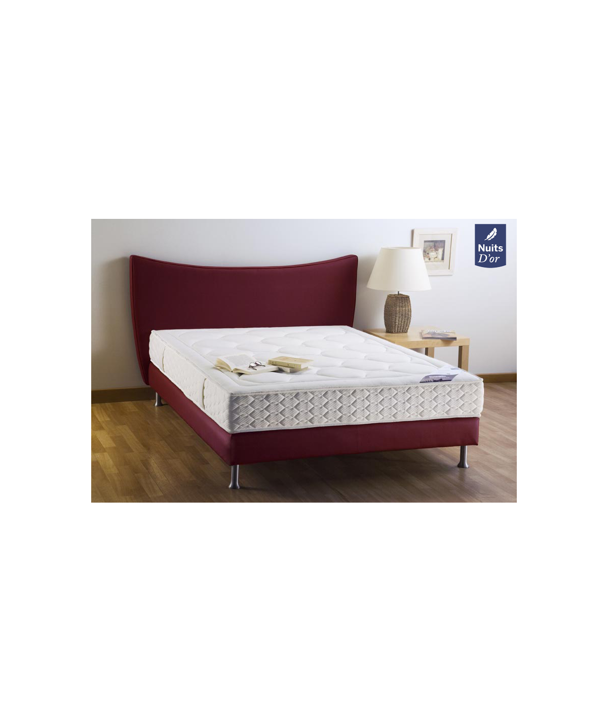 Goodnight Mattress 70x190 Density 35 Kg / m3 - Height 21 Cm - Firm Support - Orthopedic