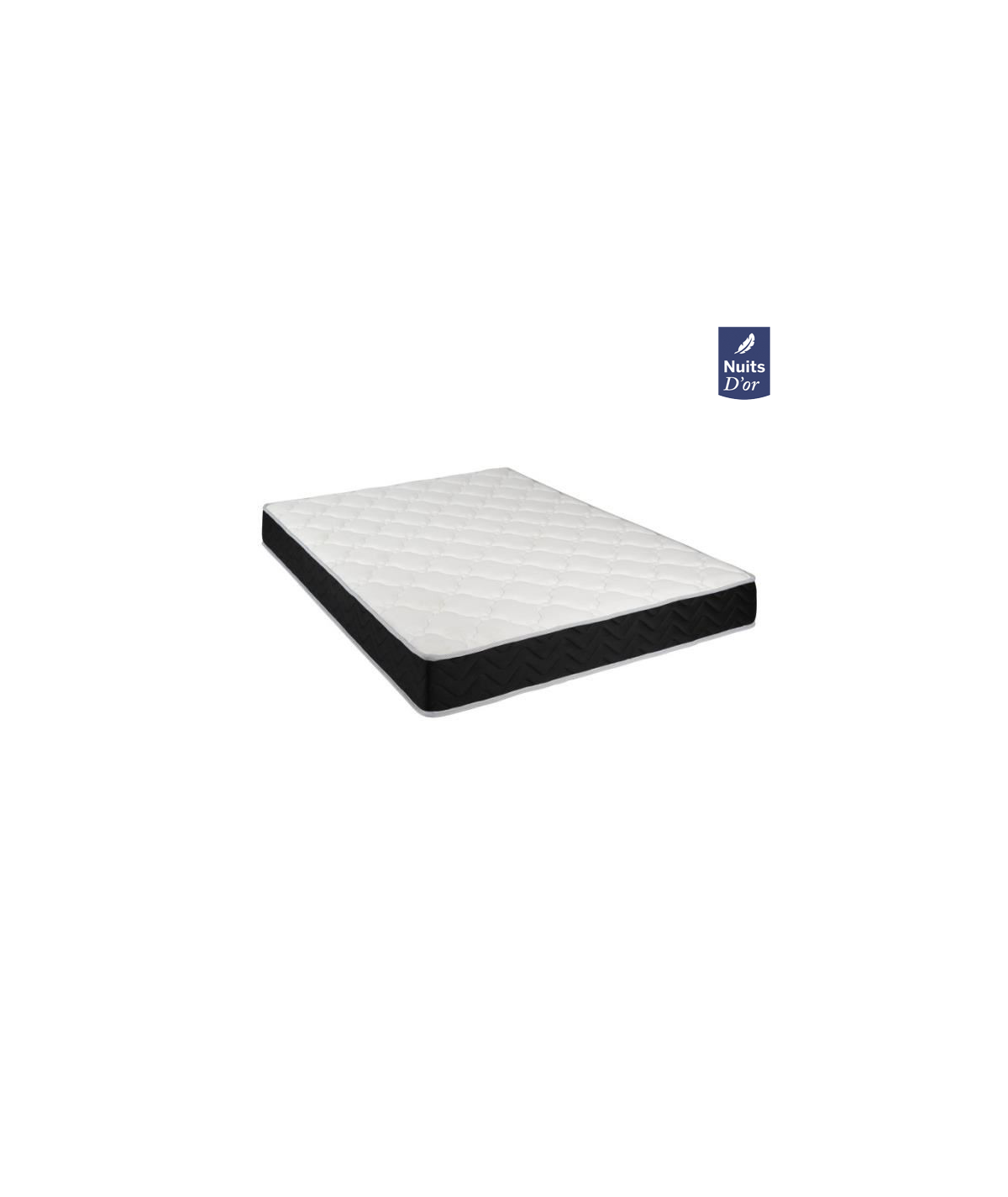 Dream Night Mattress 70x190 Latex + Aertech - Height 20 Cm - Firm Support - Orthopedic