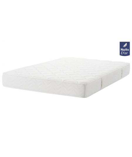 Soft Night Mattress 70x190 Density 40 Kg / m3 - Height 23 Cm - Firm Support - Orthopedic