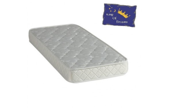 Baby Dream Mattress Polilattex Foam - Height 15 Cm - Anti-mite Antibacterial Hypoallergenic