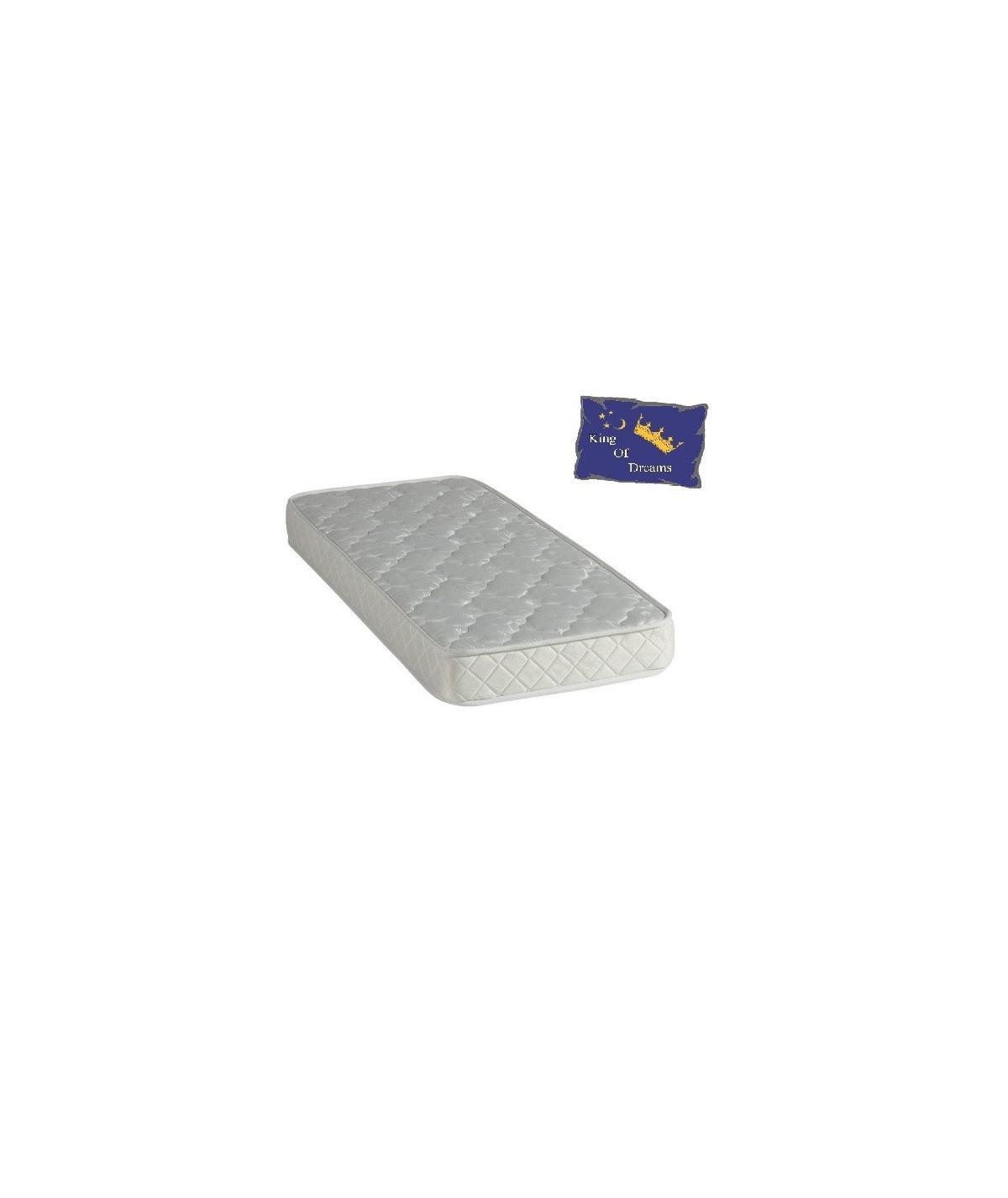 Baby Dream Mattress Polilattex Foam - Height 15 Cm - Anti-mite Antibacterial Hypoallergenic
