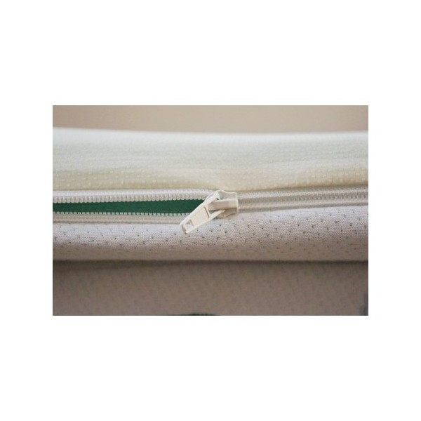 oreiller latex naturel beautiful flocons de latex dans sa taie en soie naturelle with oreiller. Black Bedroom Furniture Sets. Home Design Ideas